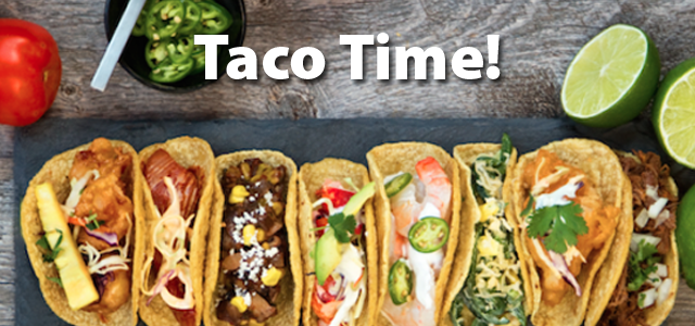 Taco Time Presented By QuiBids
