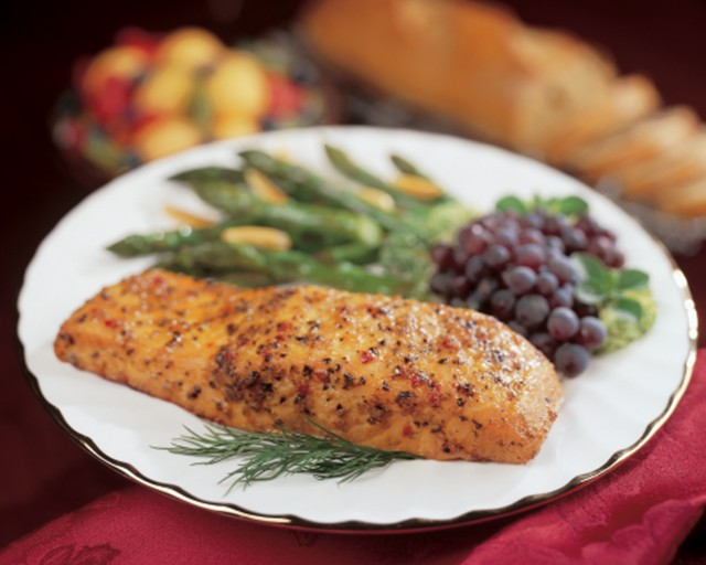 Omaha Steaks Marinated Salmon Filet