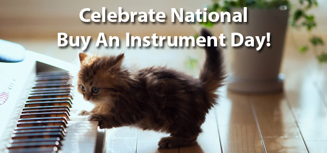 Celebrate National Buy An Instrument Day With QuiBids!