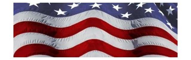 Close-up of an American flag by Panoramic Images