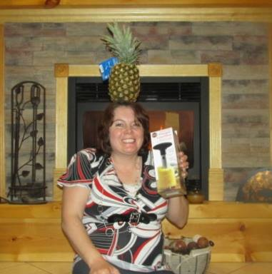 Simon Cindy pineapple slicer - QuiBids Win