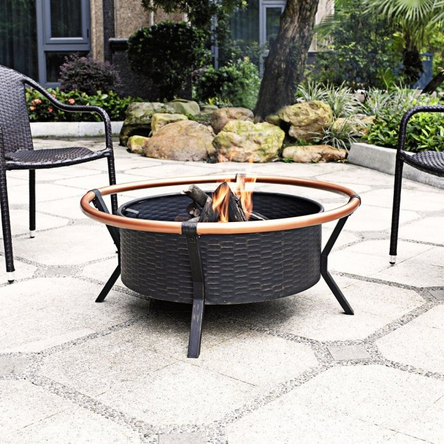 Crosley Yuma Copper Ring Firepit