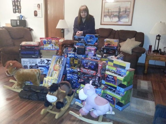 Karen H. and the 100 Toy Goal