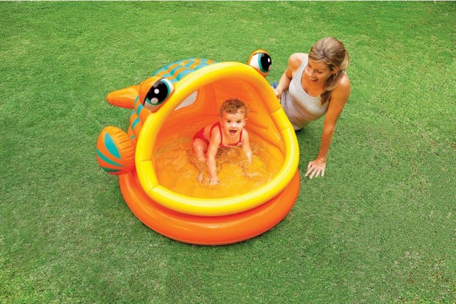 Lazy Fish Baby Shade Pool