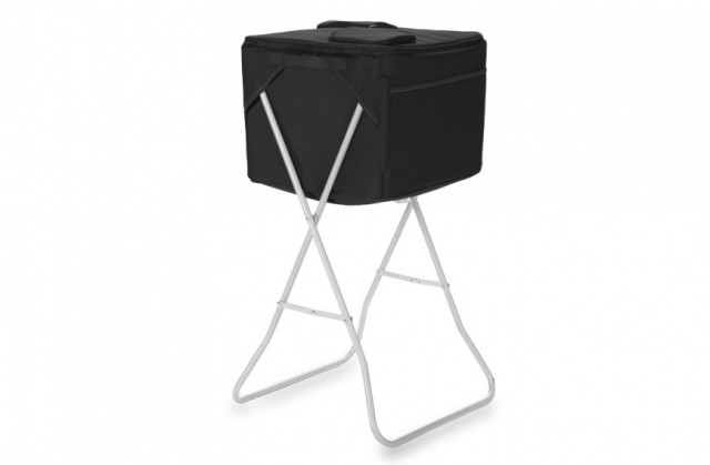 Portable Stand Cooler with Umbrella Holder