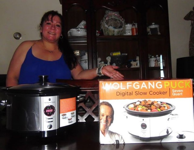Yvonne S and the slow cooker