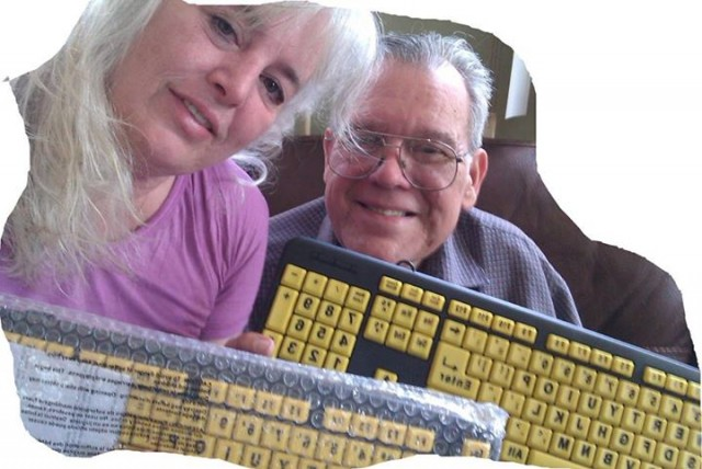 Noreen R. and the Matching Keyboards