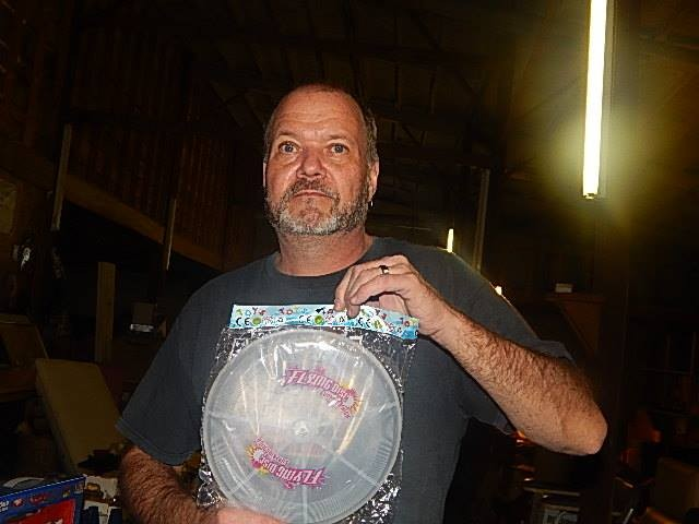 Robert won this LED Galaxy frisbee on QuiBids for $0.06 using only 3 voucher bids! #QuiBidsWin