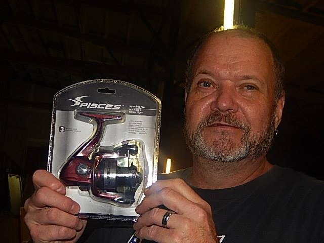 Robert won this fishing reel for $0.23 using only 10 voucher bids! #QuiBidsWin
