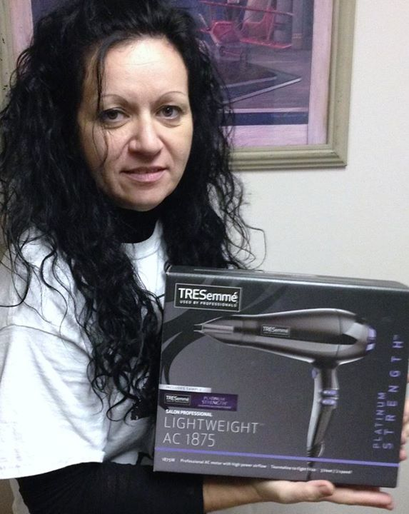 Doug won this TRESemme Blow Dryer for his wife for $0.25 using only 3 voucher bids! #QuiBidsWin