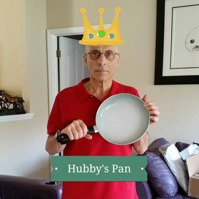 Monteen won this color-changing pan for $0.09 using only 4 voucher bids! #QuiBidsWin