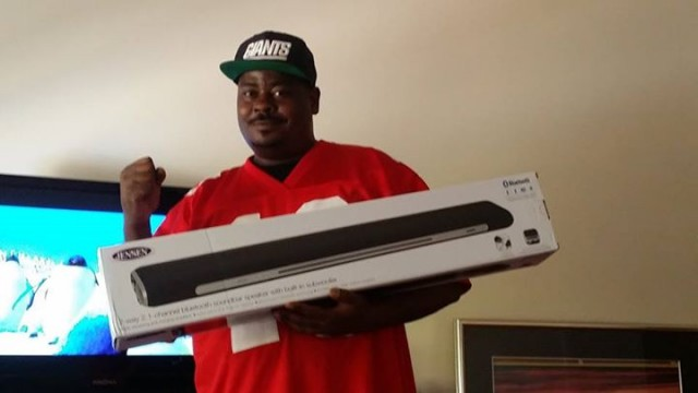 Brian won this bluetooth soundbar on QuiBids for $0.31 using only 1 real bid and 9 voucher bids! #QuiBidsWin