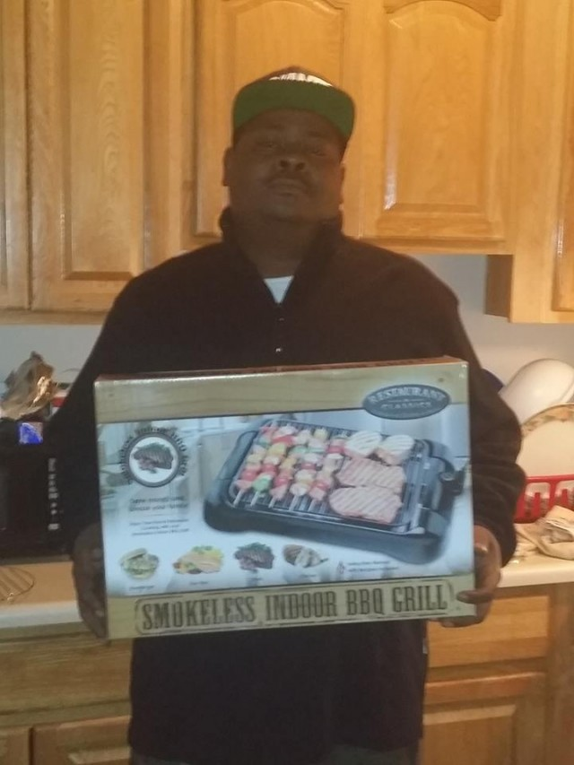 Brian won this smokeless indoor grill for $0.36 using only 8 voucher bids! #QuiBidsWin