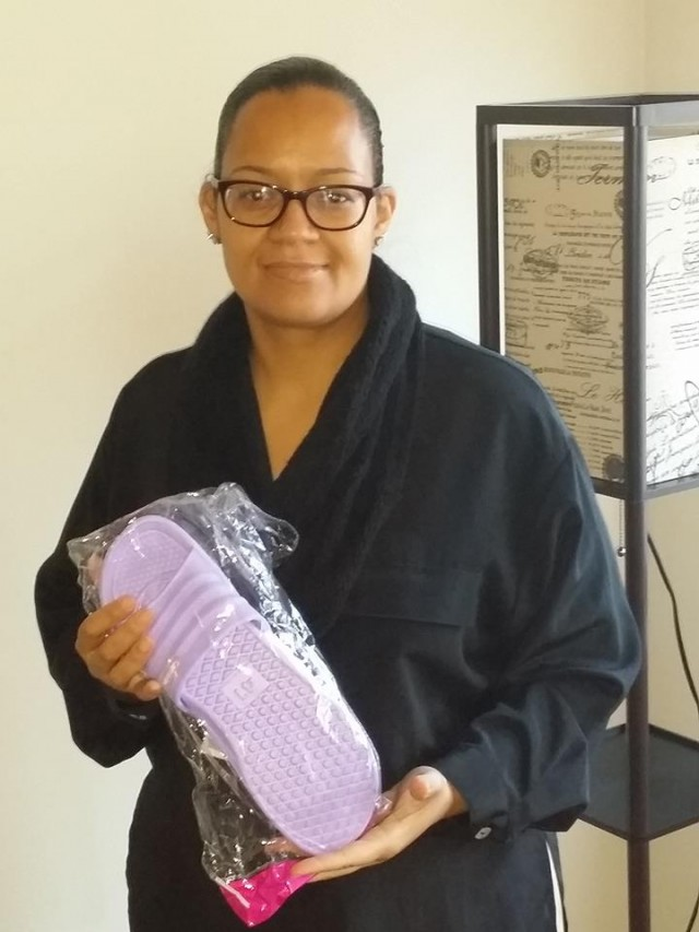 Brian won his wife these slippers for $0.08 using only 2 voucher bids and saved 99%! #QuiBidsWin