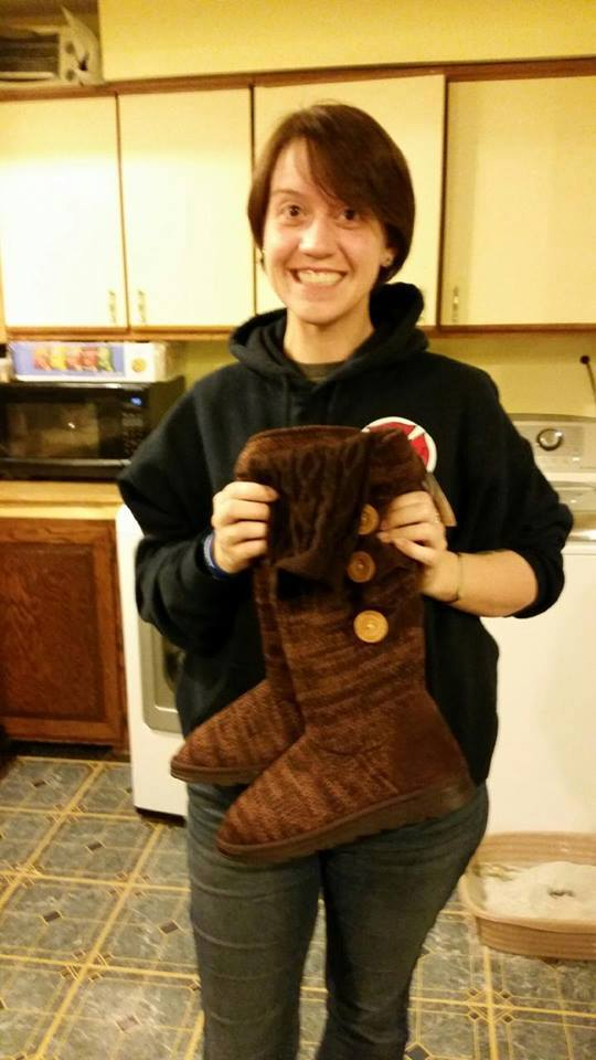 Jodi used 7 real bids to win these MUK LUKS boots for $0.19! #QuiBidsWin
