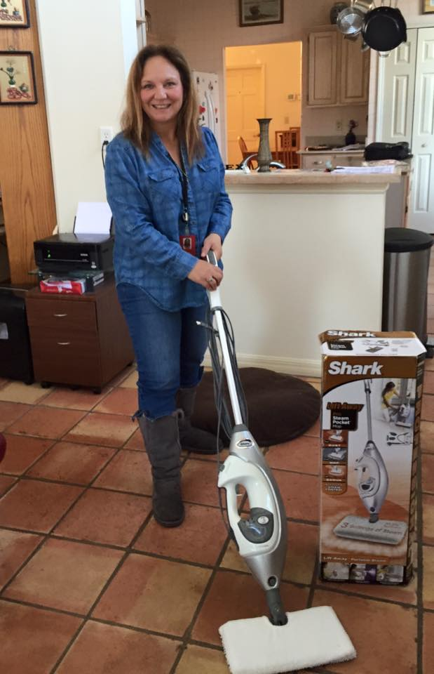 Roxana won this steam mop for $3.15 using only 45 real bids! #QuiBidsWin