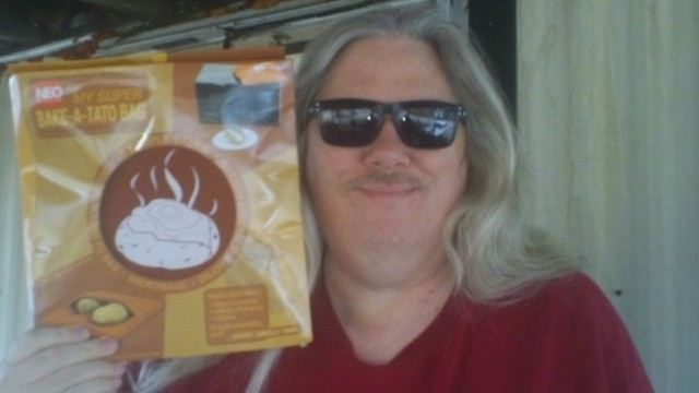 David won this microwaveable baked potato cooking bag for $0.31 using only 7 voucher bids! #QuiBidsWin