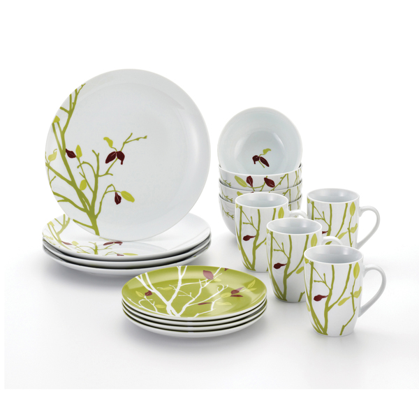 Rachael Ray Seasons Changing 16-Piece Dinnerware Set