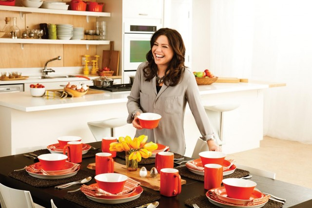 Rachael Ray 16-piece Dinnerware Sets on QuiBids