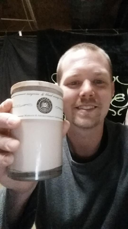Ashley won this massage oil candle for $0.16 using 1 real bid and 5 voucher bids! #QuiBidsWin