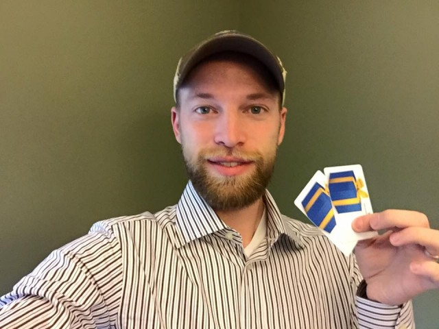 Aaron just saved over 90% on these $15 gift cards! #QuiBidsWins