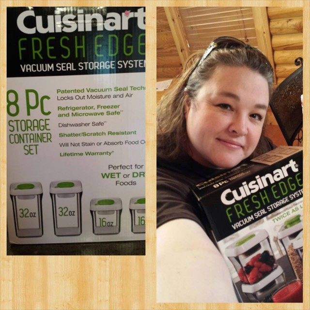 Shanon won this Cuisinart storage container set using only 9 real bids and 45 voucher bids! #QuiBidsWin