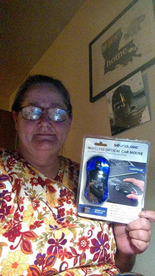 Phyllis won this car mouse for $4.29 using only 20 bids! #QuiBidsWin