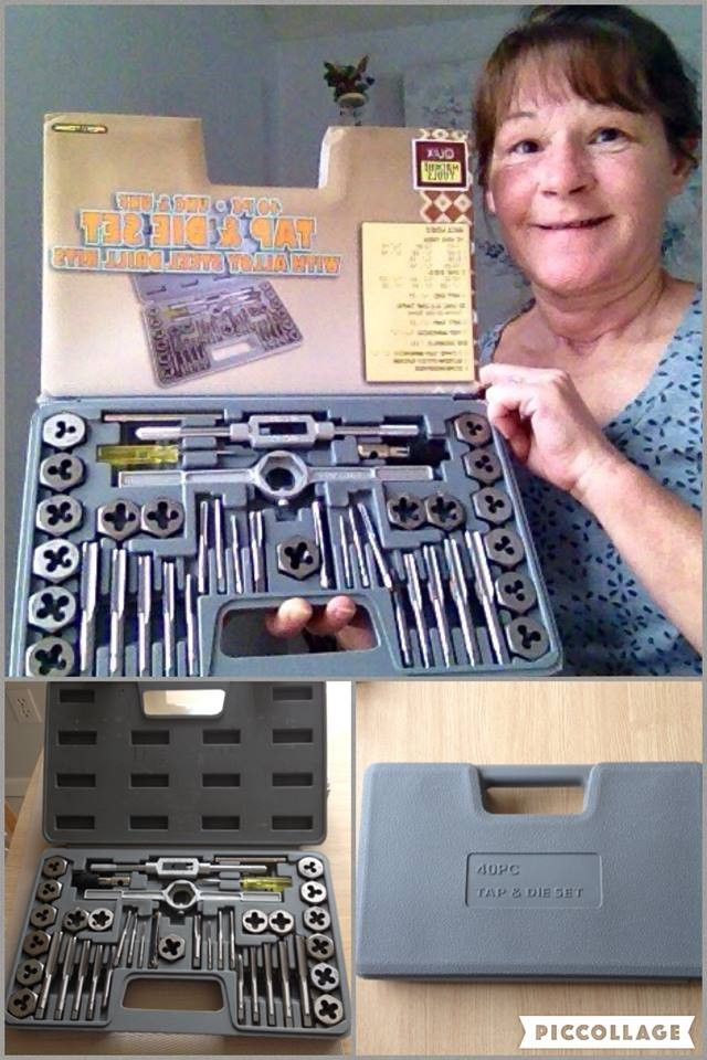 Janise won this 40pc toolkit for $0.27 using only 11 voucher bids! #QuiBidsWin