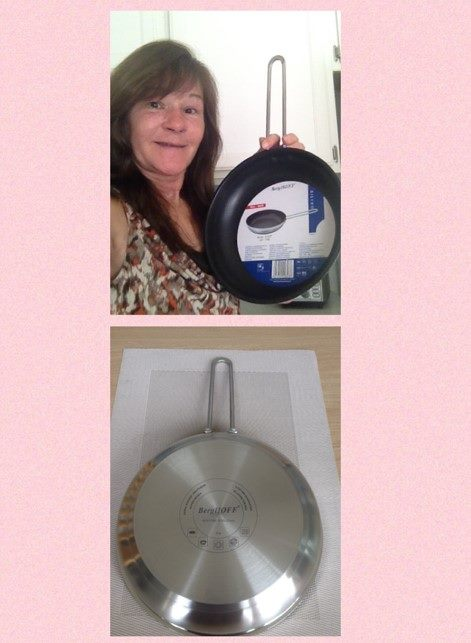 Janise won this nonstick fry pan for $0.28 using only 10 voucher bids! #QuiBidsWin