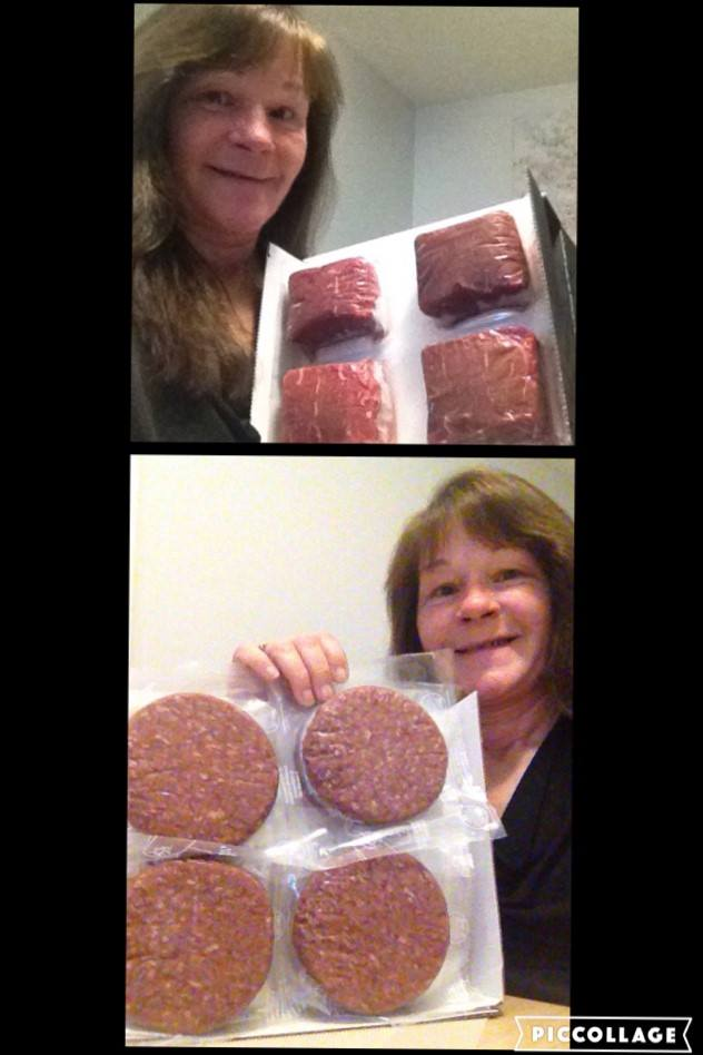 Janise used 13 voucher bids to win this Omaha Steaks sirloin pack for only $1.84! #QuiBidsWin