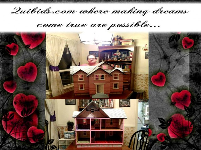 Phyllis used 42 bids to win this doll house for $2.15 and saved 98%! #QuiBidsWin