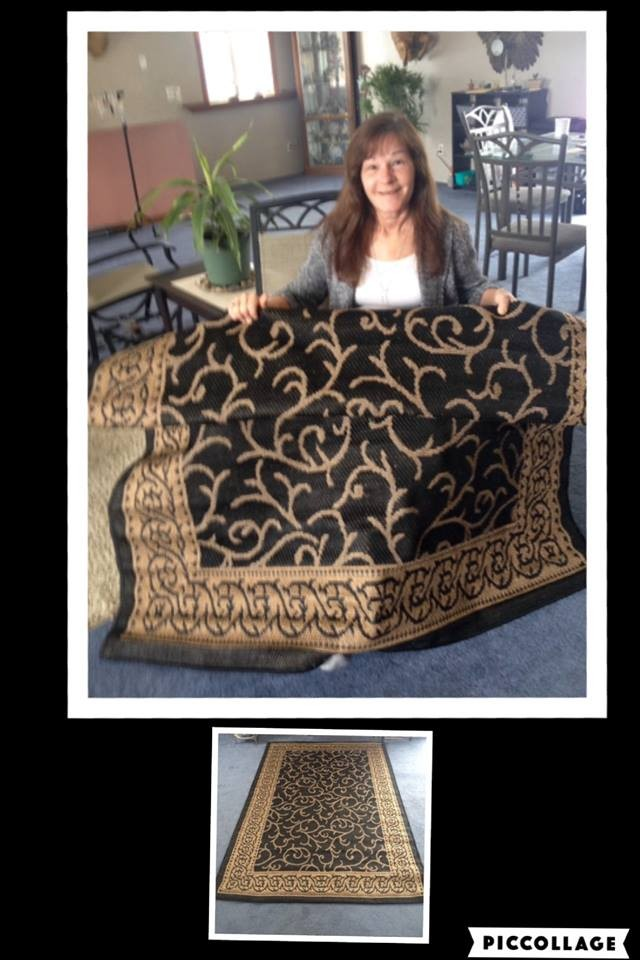 Janise won this lavish rug for $0.42 using only 13 voucher bids! #QuiBidsWin
