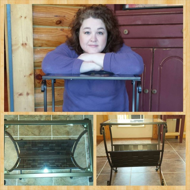 Shanon used 19 voucher bids to win this magazine table for only $1.15! #QuiBidsWin