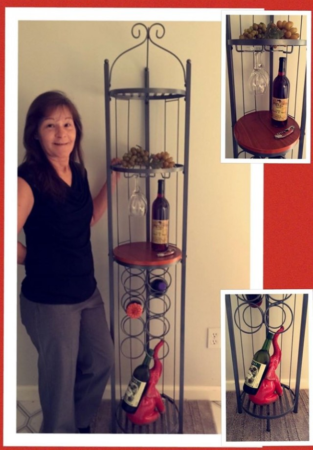 Janise won this Wine Rotunda for $0.42 using only 16 voucher bids! #QuiBidsWin
