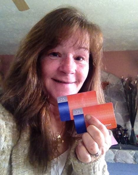 Janise loves winning gift cards on QuiBids! #QuiBidsWins