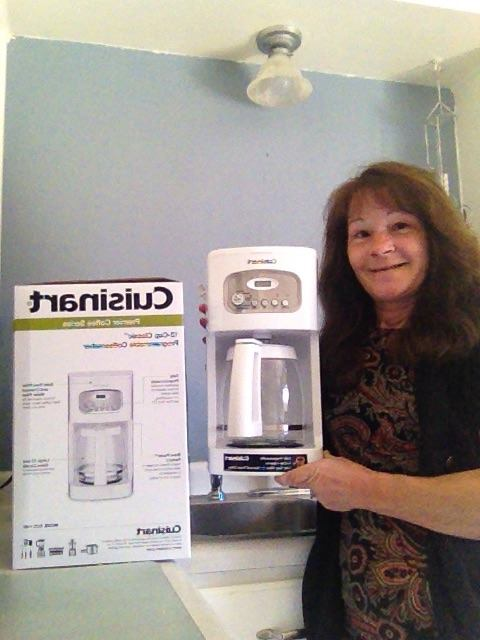 Janise used 27 voucher bids to win this coffee maker for only $0.68! #QuiBidsWin