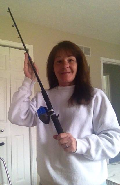 Janise won this rod and reel for $0.10 using only 5 real bids! #QuiBidsWin