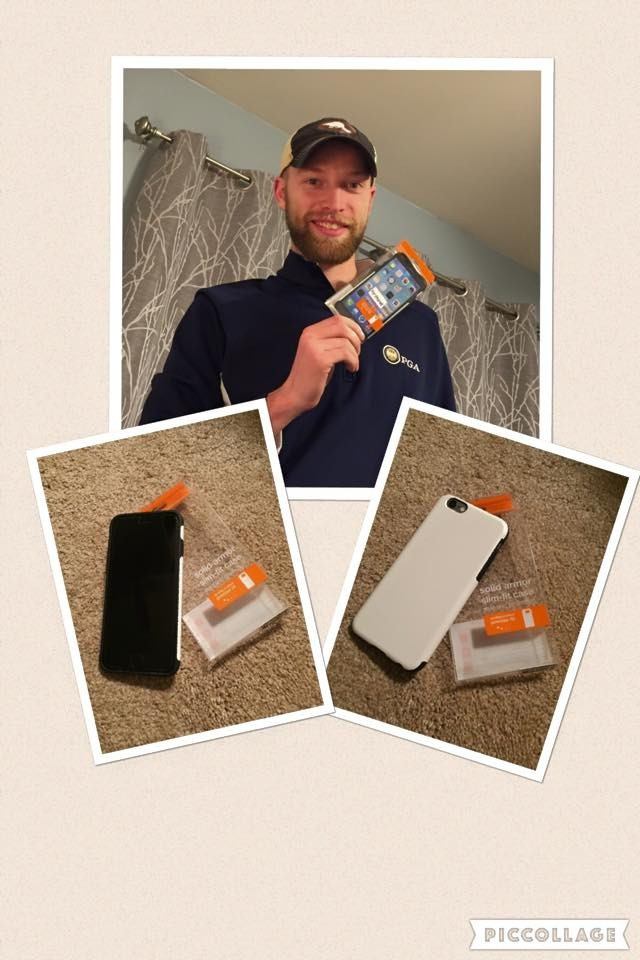 Aaron won this phone case for $0.09 and used 3 voucher bids! #QuiBidsWin