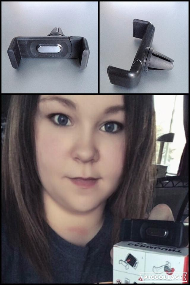 Janise used 7 voucher bids to win this car phone mount (+20 bids) for only $0.85! #QuiBidsWin