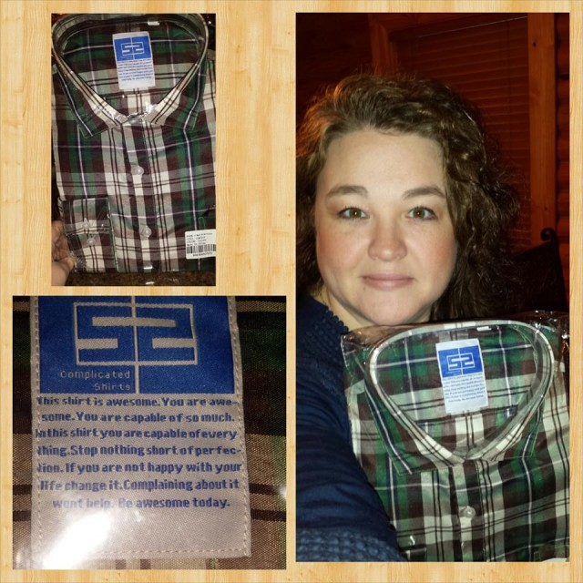 Shanon won this plaid dress shirt for $0.77 using only 13 voucher bids! #QuiBidsWins