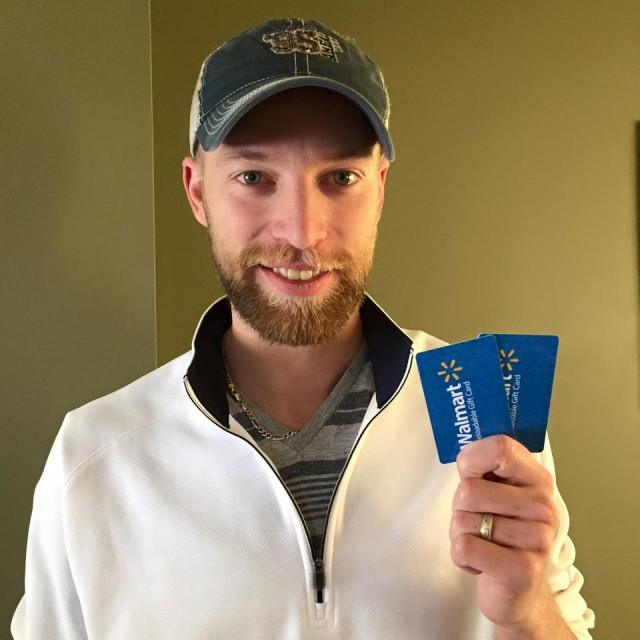 Aaron won 2 $10 gift cards (+10 bids) for a total of $1.72 using only 16 voucher bids! #QuiBidsWins