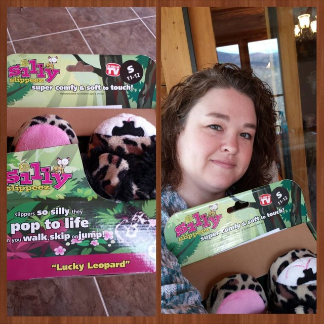 Shanon used 2 voucher bids to win these lucky leopard slippers for $0.04! #QuiBidsWin