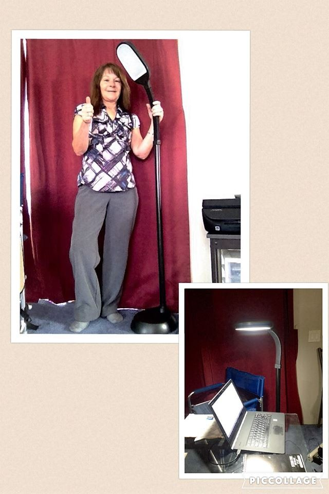 Janise used 14 voucher bids to win this reading lamp for only $0.49! #QuiBidsWin