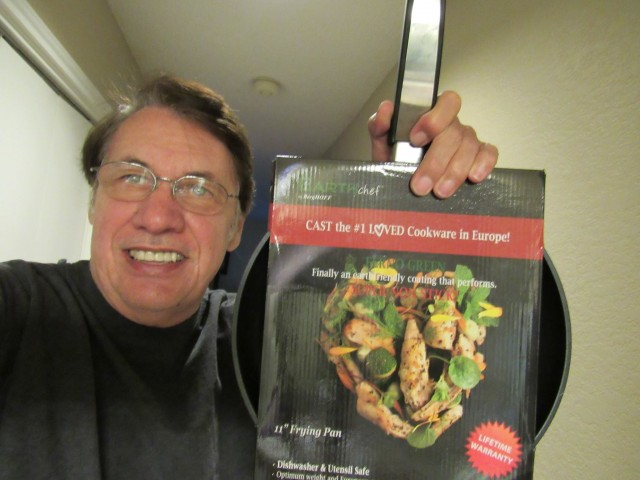 Rick won this BergHOFF frying pan for $2.70 using 91 voucher bids and saved 95%! #QuiBidsWin