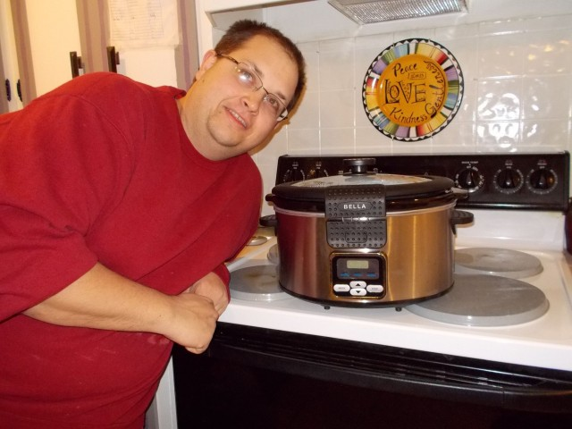 Mark won this programmable slow cooker for $2.83 using 16 real bids and 4 voucher bids and saved $67.56! #QuiBidswin