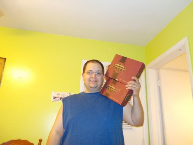 Mark won this Omaha Steaks tops and burgers combo for $1.63 using 28 real bids and saved $64.57! #QuiBidsWin
