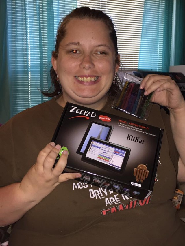 Samantha won this Android tablet (+1X Gameplay) for $0.46 using 13 real bids and saved 89%! #QuiBidsWin