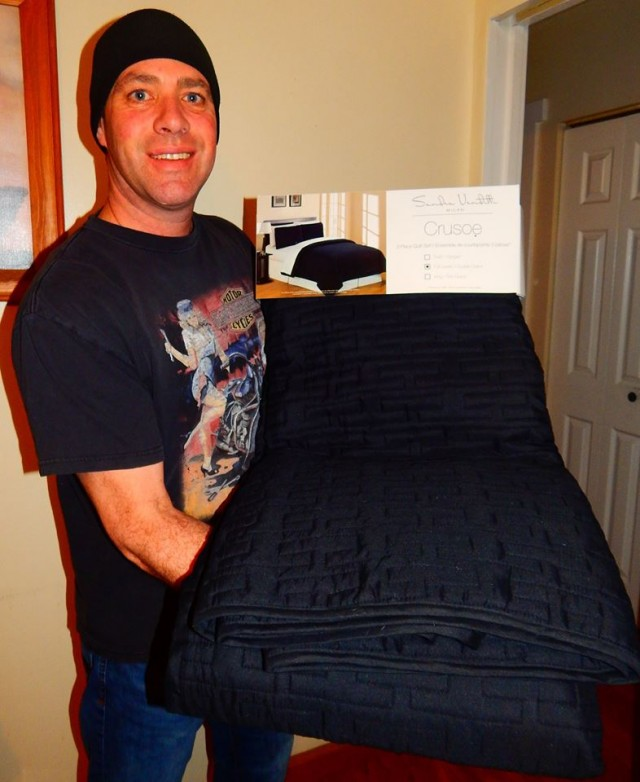 Doug used 8 voucher bids to win this quilt set for only $0.73 and saved 99%! #QuiBidsWin