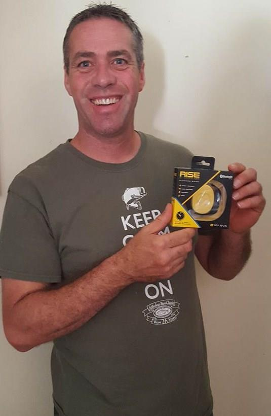 Doug won this activity tracker for $0.70 using only 16 voucher bids! #QuiBidsWin