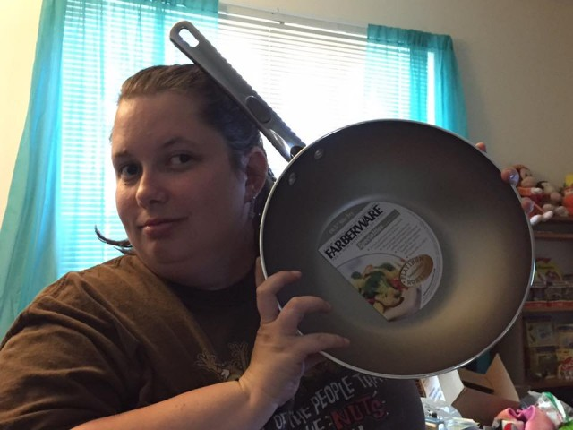 Samantha used 1 voucher bid to win this pan (+20 bids) for $0.01! #OneBidWin